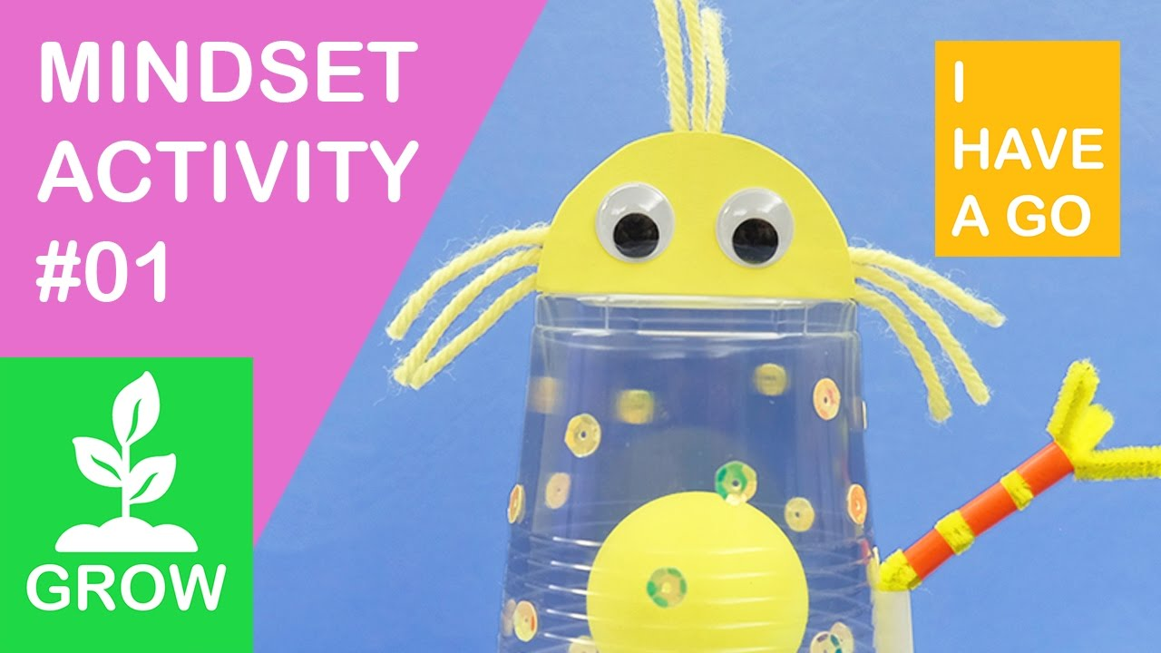 Growth Mindset Activity 01 How To Make A Neuron Buddy I Have A