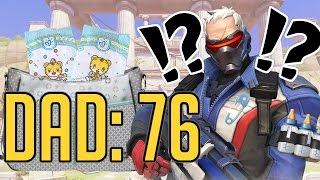 overwatch funny compilation dad 76   2nd rate gaming