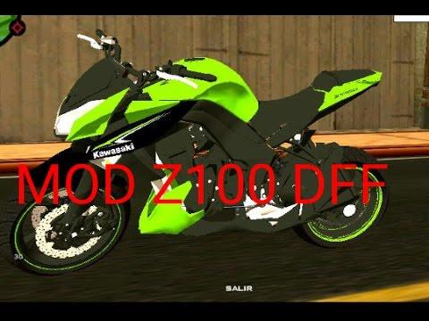 MOD Z1000 DFF NO GTA SAN ANDREAS PARA ANDROID