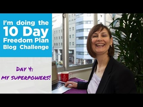 Day 4 - 10 Day Freedom Plan Blog Challenge