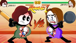Pregnancy In Fight Game ~ Pregnancy Compilation of All episodes ~ Pencil Cartoons [HD]