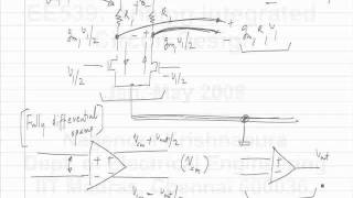 Lecture 7 DC negative feedback around opamps; Fully differential opamps