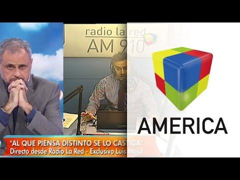 El cruce en vivo de Jorge Rial y Luis Majul por...