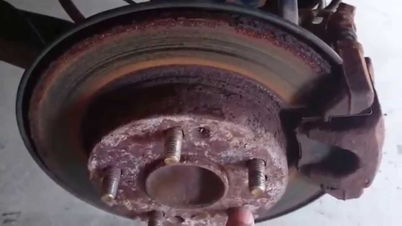 How To Replace 2007 Honda Civic Wheel Bearing Youtube