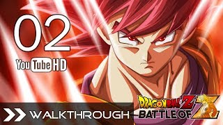 Dragon Ball Z Battle of Z Walkthrough Gameplay - Part 2 (Saiyan Saga - Vegeta Boss Battle) English