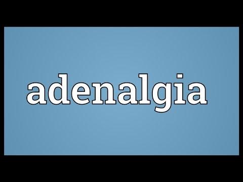 Header of adenalgia