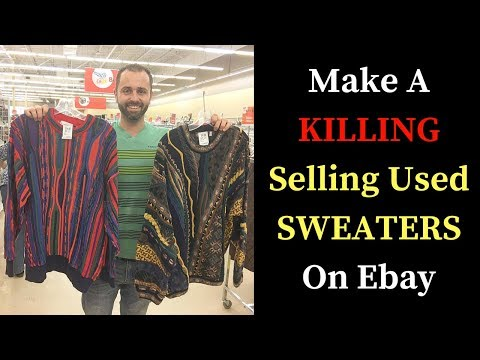 Make A Killing Selling Used Sweaters on Ebay ( Top Selling Sweaters )