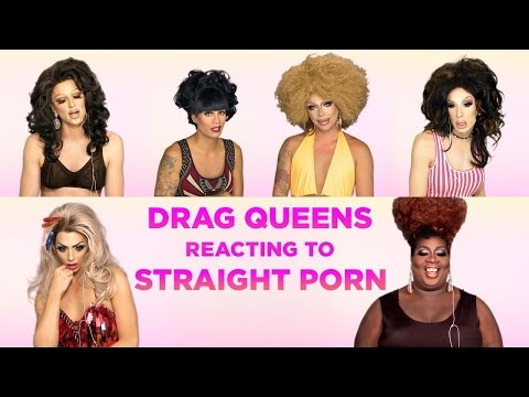 Drag Queens React to Straight P0rn: Alyssa Edwards, Alaska, Raven, Raja, Delta Work, Pandora & More!