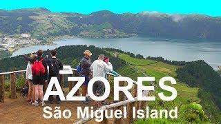 AZORES: São Miguel  Portuguese volcanic island