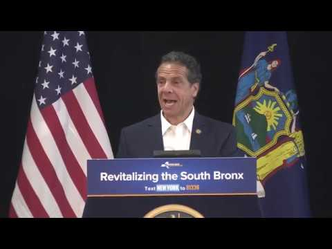 Governor Cuomo Makes An Announcement At Boricua College
