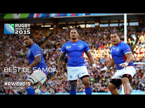 Manu Samoa's GREATEST moments at RWC 2015!