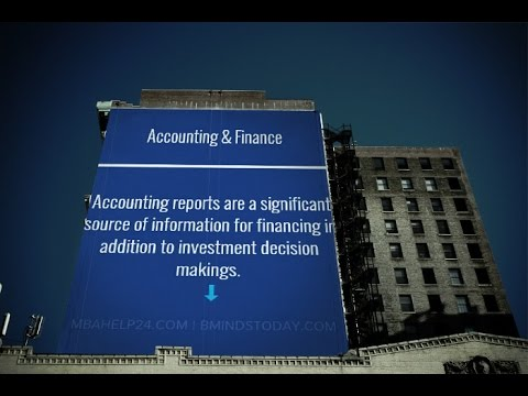 Accounting & Finance: Core Concepts || Report Writing || Theories | Models || InvestMBA