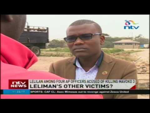 Two families claim AP Officer Fredrick Leliman killed their kin
