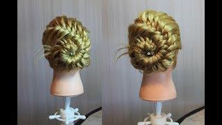 Прическа из косы