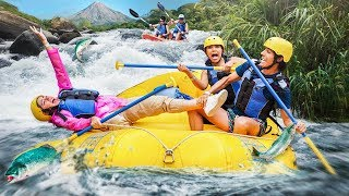 GOING DOWN THE FASTET RIVER | LOS POLINESIOS VLOGS