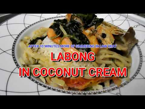 LABONG:  The Funky Smelling Bamboo Shoot in Coconut Cream