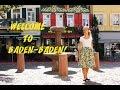 VLOG: ГЕРМАНИЯ, в Баден-Бадене все говорят по-русски и немецкий не нужен?!