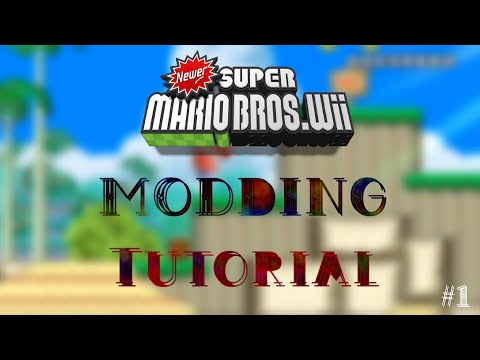 Newer Super Mario Bros Wii Modding Tutorial #1: Getting Started And Setting Up The ISO Builder
