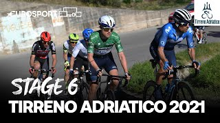Tirreno–Adriatico 2021 - Stage 6 Highlights | Cycling | Eurosport