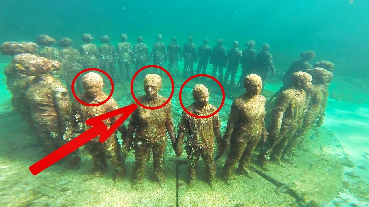 Top Mysterious Underwater Places In The World YouTube - 6 amazing underwater attractions