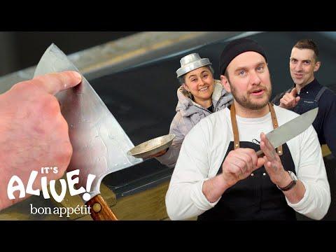 Brad Teaches You How to Sharpen Kitchen Knives | It's Alive | Bon Appétit