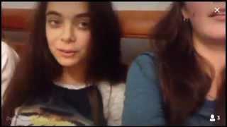 Прикол с девушками PERISCOPE tv