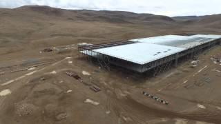 Tesla Gigafactory In 4k
