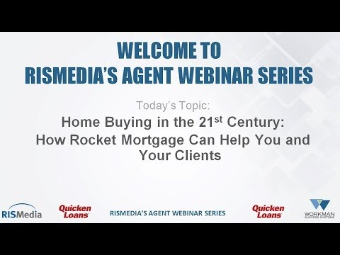 Home Buying in the 21st Century: How Rocket Mortgage Can Help You and Your Clients