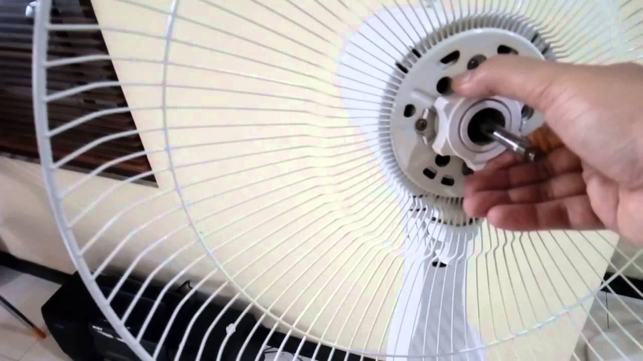 Cara Memasang Kipas Angin Yang Barusan Dicuci Sekrup Counter Clock Wise Youtube
