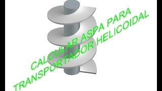 CALCULAR ASPA PARA TRANSPORTADOR HELICOIDAL thumbnail