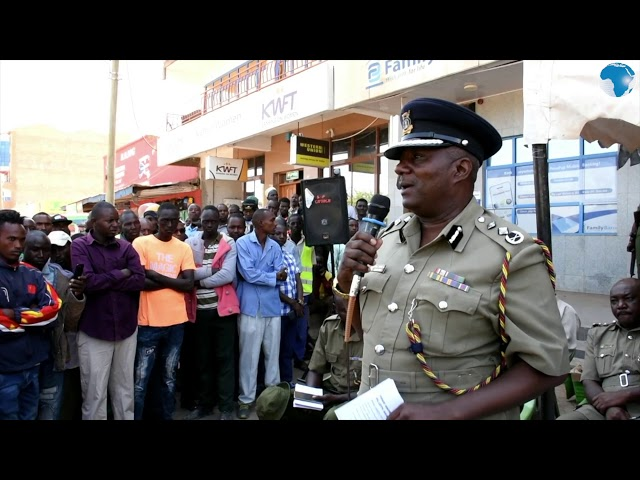 Commandant Kimaru says police to ensure compliance to traffic rules to reduce road carnage