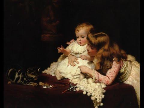 Дети в картинах Чарльза Бертон Барбера, натюрморты Ян ван Хёйсум, менуэт Луиджи Боккерини