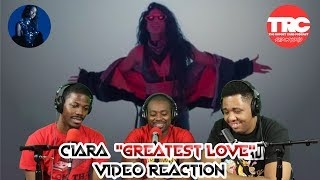 "Ciara ""Greatest Love"" Music Video Reaction Video"