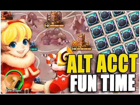 SUMMONERS WAR : Alt Account Playtime :D