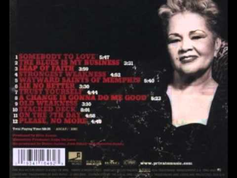 Etta James--A Change Is Gonna Do Me Good