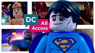 EXCLUSIVE LEGO Bizarro League Clip + Arrow vs. Flash Crossover (DCAA 236)