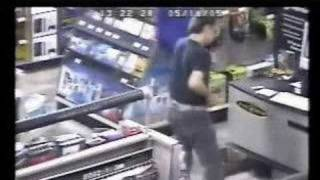 customer gets caught dancing at Best Buy store