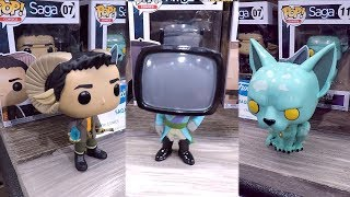 Saga The Comic Book Funko Pop Vinyl Figures At The 2018 New York Toy Fair