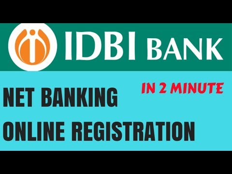IDBI Internet Banking | IDBI Net Banking Online Registration | IDBI Net Banking Password Generation