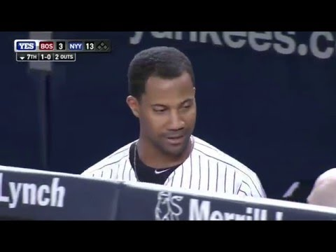 Yankees big 7th inning vs Redsox 8/4/15