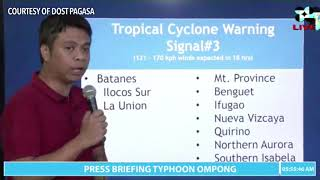 Typhoon Ompong (Mangkhut) update | 5AM Sept 15, 2018