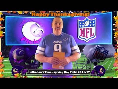 Thanksgiving Day NFL Picks 2016-2017 Week 12 Against The Spread