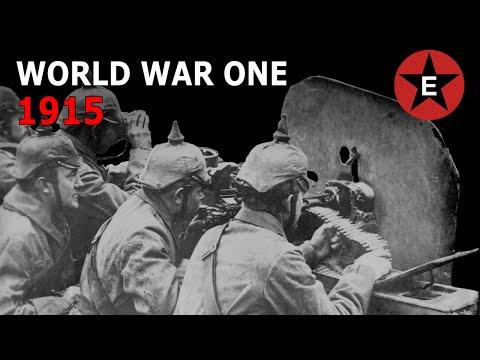 World War One - 1915