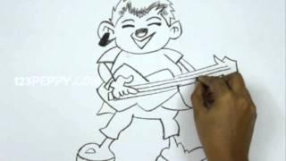How to Draw a Punk Rocker