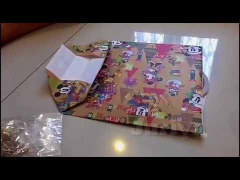 Paper Bag dari kertas kado versi cepat..