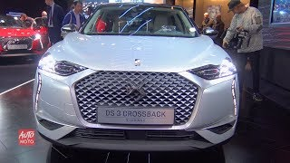2019 DS 3 Crossback Σ-Tense - Exterior And interior Walkaround - 2018 Paris Motor Show
