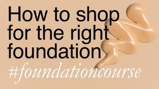 How To Shop For The Right Foundation