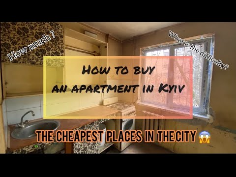 Buying an apartment in Kyiv, Ukraine ?🤔