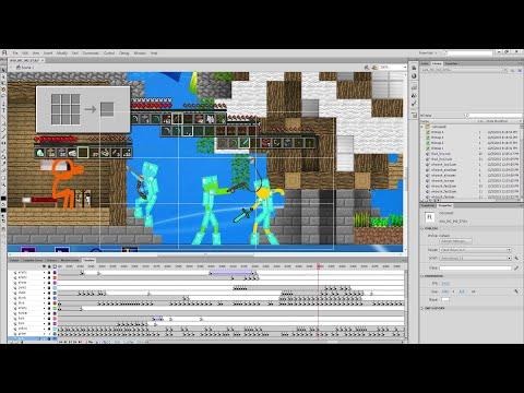 Behind the Scenes - Animation vs. Minecraft