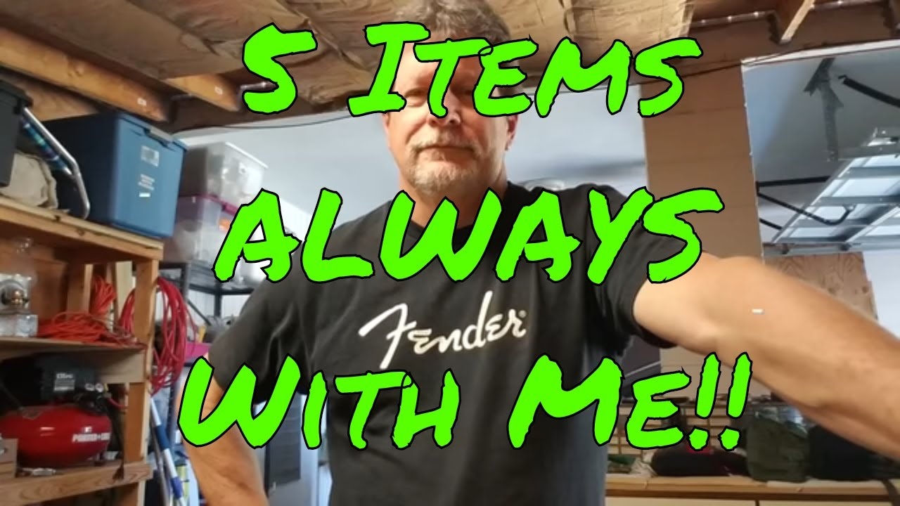 5 Items I Am Never Without in the Woods